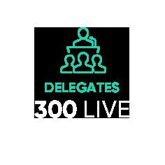 RESET Live - 300 Live Delegates