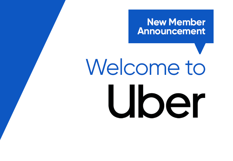 We welcome Uber to our professional marketing community